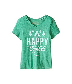 THE ORIGINAL RETRO BRAND KIDS スリーブ ブイネック Tシャツ 【 SLEEVE HAPPY CAMPER SHORT VNECK TEE LITTLE BIG STREAKY SPRITE 】 キッズ ベビー マタニティ トップス 送料無料