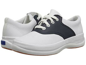 KEDS KIDS 【 SCHOOL DAYS II LITTLE KID BIG WHITE NAVY LEATHER 】 キッズ ベビー マタニティ 送料無料