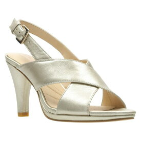 CLARKS?< SUP> 【 LOTUS SANDAL CHAMPAGNE LEATHER 】 送料無料