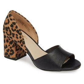 SEYCHELLES 【 SHABBY CHIC SANDAL BLACK LEATHER LEOPARD SUEDE 】 送料無料