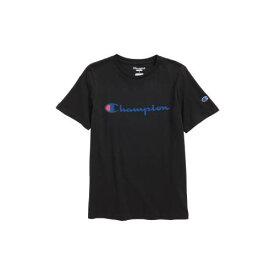 チャンピオン CHAMPION ロゴ 【 HERITAGE LOGO TSHIRT BLACK 】 キッズ ベビー マタニティ トップス Tシャツ 送料無料