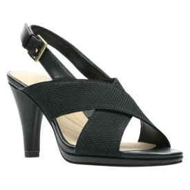 CLARKS®< SUP> 【 LOTUS SANDAL BLACK COMBI LEATHER 】 送料無料
