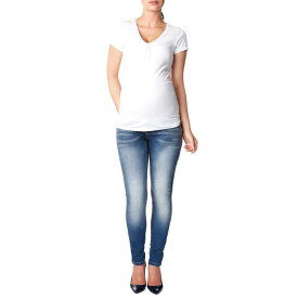 NOPPIES 'TARA' 【 OVER THE BELLY SKINNY MATERNITY JEANS STONE WASH 】 キッズ ベビー マタニティ ママ マタニティウエア 授乳服 ボトムス 送料無料