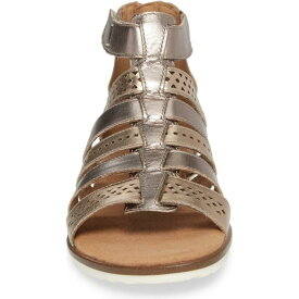 CLARKS?< SUP> 【 KELE LOTUS SANDAL METALLIC MULTI LEATHER 】 送料無料