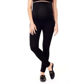 INGRID & ISABEL?< SUP> ニット 【 PONTE KNIT SKINNY MATERNITY ANKLE LEGGINGS JET BLACK 】 キッズ ベビー マタニティ ママ マタニティウエア 授乳服 ボトムス 送料無料