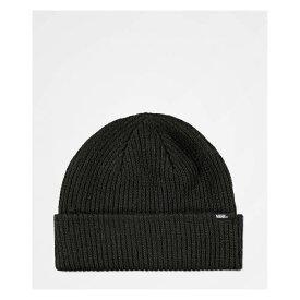 ヴァンズ VANS バンズ コア 黒色 ブラック ビーニー キャップ 帽子 ユニセックス 【 VANS CORE BASIC BLACK BEANIE 】