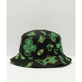 ヴァンズ VANS バンズ 緑 グリーン 黒色 ブラック & バケットハット ユニセックス 【 VANS GREEN X SHAKE JUNT BLACK ASSORTED 】