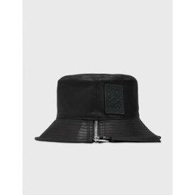 ロエベ 黒色 ブラック レディース 【 LOEWE FISHERMAN HAT BLACK 】