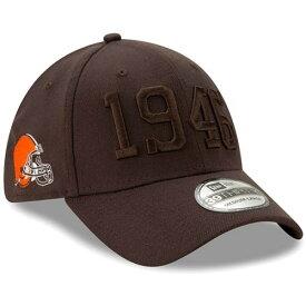 ニューエラ NEW ERA クリーブランド サイドライン ラッシュ 茶 ブラウン 【 NFL RUSH BROWN NEW ERA CLEVELAND S 2019 SIDELINE COLOR 39THIRTY FLEX HAT 】 バッグ キャップ 帽子 メンズキャップ 帽子