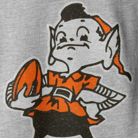OUTERSTUFF 茶 ブラウン クリーブランド ブラウンズ 子供用 ビンテージ ヴィンテージ Tシャツ 灰色 グレー グレイ キッズ ベビー マタニティ トップス ジュニア 【 Jim Brown Cleveland Browns Youth R