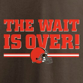 NFL PRO LINE BY FANATICS BRANDED クリーブランド ブラウンズ 子供用 Tシャツ 茶 ブラウン キッズ ベビー マタニティ トップス ジュニア 【 Cleveland Browns Youth The Wait Is Over T-shirt - Brown 】 Brown