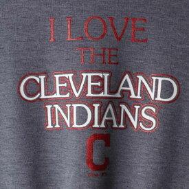 OUTERSTUFF クリーブランド インディアンズ 子供用 Tシャツ 紺 ネイビー キッズ ベビー マタニティ トップス ジュニア 【 Cleveland Indians Girls Youth True Love Tie Bottom Tri-blend T-shirt - Heathered Navy 】