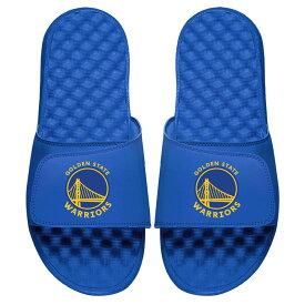 ISLIDE スケートボード ウォリアーズ ロゴ サンダル メンズ スポーツサンダル 【 Golden State Warriors Global Logo Slide Sandals 】 Blue