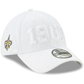 ニューエラ NEW ERA セインツ サイドライン ラッシュ 【 NFL RUSH ORLEANS SAINTS 2019 SIDELINE COLOR 39THIRTY FLEX HAT WHITE 】 バッグ キャップ 帽子 メンズキャップ 送料無料