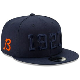 ニューエラ NEW ERA シカゴ ベアーズ サイドライン ラッシュ スナップバック バッグ 【 BEARS NFL RUSH SNAPBACK CHICAGO 2019 SIDELINE COLOR B ALTERNATE 9FIFTY ADJUSTABLE HAT ORANGE NAVY 】 キャップ 帽子 メンズキ
