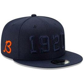 ニューエラ NEW ERA シカゴ ベアーズ サイドライン ラッシュ スナップバック バッグ 【 BEARS NFL RUSH SNAPBACK CHICAGO 2019 SIDELINE COLOR B ALTERNATE 9FIFTY ADJUSTABLE HAT NAVY 】 キャップ 帽子 メンズキャッ
