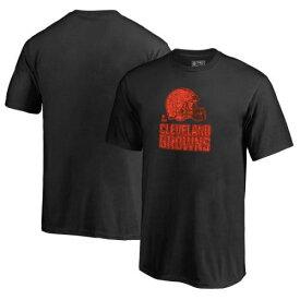 NFL PRO LINE BY FANATICS BRANDED クリーブランド ブラウンズ 子供用 トレーニング Tシャツ キッズ ベビー マタニティ トップス ジュニア 【 Cleveland Browns Youth Training Camp Hookup T-shirt 】 Black