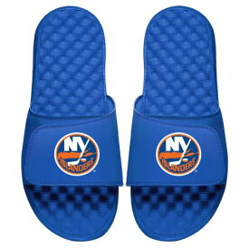 ISLIDE ロゴ サンダル メンズ スポーツサンダル 【 New York Islanders Primary Logo Slide Sandals 】 Royal