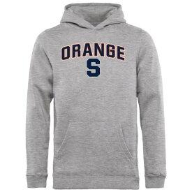 FANATICS BRANDED シラキュース 橙 オレンジ 子供用 キッズ ベビー マタニティ トップス ジュニア 【 Syracuse Orange Youth Proud Mascot Pullover Hoodie - Ash - 】 Ash