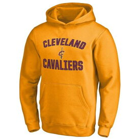 FANATICS BRANDED クリーブランド キャバリアーズ 子供用 ビクトリー キッズ ベビー マタニティ トップス ジュニア 【 Cleveland Cavaliers Youth Victory Arch Pullover Hoodie 】 Gold