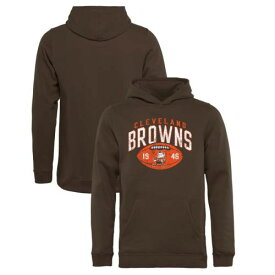 NFL PRO LINE BY FANATICS BRANDED クリーブランド ブラウンズ 子供用 コレクション コイン 茶 ブラウン キッズ ベビー マタニティ トップス ジュニア 【 Cleveland Browns Youth Throwback Collection Coin Toss P