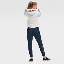 ダナキャランニューヨーク スポーツ DKNY SPORT アトランタ ブレーブス レディース フーディー パーカー 白色 ホワイト WOMEN'S 【 DKNY SPORT THE ZOEY HOODIE WHITE 】 レディースファッション トッ