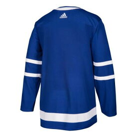 アディダス ADIDAS トロント オーセンティック ジャージー 青色 ブルー メープルリーフス 【 ADIDAS HOME AUTHENTIC BLANK JERSEY BLUE 】