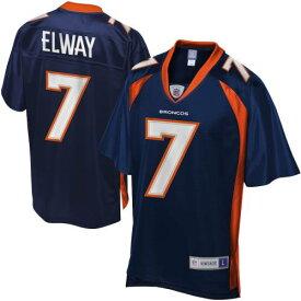 NFL PRO LINE デンバー ブロンコス ジャージ 紺 ネイビー 青 ブルー スポーツ アウトドア アメリカンフットボール メンズ 【 John Elway Denver Broncos Retired Player Jersey - Navy Blue 】 Navy Blue