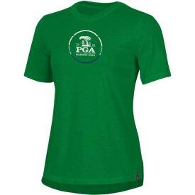アンダーアーマー UNDER ARMOUR レディース Tシャツ 緑 グリーン WOMEN'S 【 GREEN UNDER ARMOUR 2020 PGA CHAMPIONSHIP PERFECT COTTON TSHIRT KELLY 】 レディースファッション トップス Tシャツ カットソー