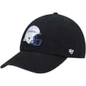 フォーティーセブン '47 エア ファルコンズ 黒色 ブラック '47 エアフォース – 【 AIR CLEAN UP ADJUSTABLE HAT BLACK COLOR 】 バッグ キャップ 帽子 メンズキャップ 帽子