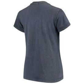 '47 クリーブランド インディアンズ レディース Tシャツ 紺 ネイビー レディースファッション トップス カットソー 【 Cleveland Indians Womens Midnight Gamma T-shirt - Navy 】 Navy