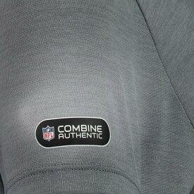 アンダーアーマー UNDER ARMOUR ワシントン レッドスキンズ レディース オーセンティック パフォーマンス ブイネック Tシャツ 灰色 グレー グレイ レディースファッション トップス カット