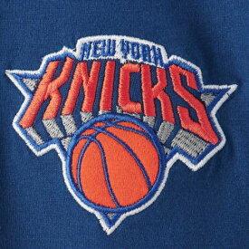 ニューエラ NEW ERA ニックス ロゴ Tシャツ メンズファッション トップス カットソー メンズ 【 New York Knicks Wordmark Logo Cut And Sew Applique Brushed T-shirt - Royal 】 Royal