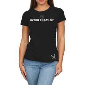 オリジナルレトロブランド ORIGINAL RETRO BRAND インテル マイアミ レディース Tシャツ 黒色 ブラック WOMEN'S 【 ORIGINAL RETRO BRAND TRIBLEND TSHIRT BLACK 】 レディースファッション トップス Tシャツ