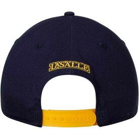 TOP OF THE WORLD スナップバック バッグ 【 SNAPBACK LA SALLE EXPLORERS OBSERVER ADJUSTABLE HAT NAVY 】 キャップ 帽子 メンズキャップ 送料無料