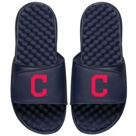 ISLIDE クリーブランド インディアンズ 子供用 ロゴ サンダル 紺 ネイビー キッズ ベビー マタニティ ジュニア 【 Cleveland Indians Youth Primary Logo Slide Sandals - Navy 】 Navy