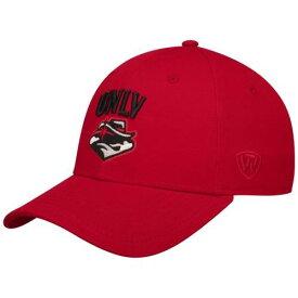 TOP OF THE WORLD スナップバック バッグ 【 SNAPBACK UNLV REBELS OBSERVER ADJUSTABLE HAT RED 】 キャップ 帽子 メンズキャップ 送料無料