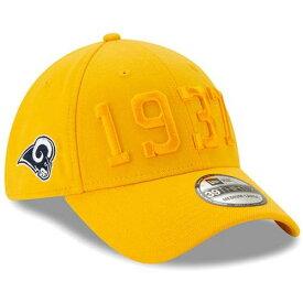 ニューエラ NEW ERA ラムズ サイドライン ラッシュ 金色 ゴールド 【 NFL RUSH NEW ERA LOS ANGELES RAMS 2019 SIDELINE COLOR 39THIRTY FLEX HAT GOLD 】 バッグ キャップ 帽子 メンズキャップ 帽子