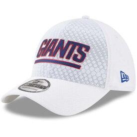 ニューエラ NEW ERA ジャイアンツ ラッシュ 白 ホワイト バッグ キャップ 帽子 メンズキャップ メンズ 【 New York Giants 2017 Color Rush 39thirty Flex Hat - White 】 White