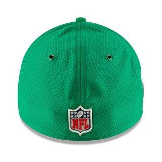 ニューエラ NEW ERA ジェッツ サイドライン ラッシュ 【 JETS NFL RUSH YORK 2018 SIDELINE COLOR OFFICIAL 39THIRTY FLEX HAT KELLY GREEN 】 バッグ キャップ 帽子 メンズキャップ 送料無料