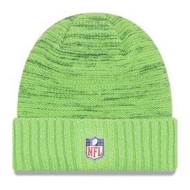 ニューエラ NEW ERA シアトル シーホークス ラッシュ ニット 緑 グリーン ニューエラ 【 RUSH GREEN 2017 COLOR KNIT HAT NEON 】 バッグ キャップ 帽子 メンズキャップ 帽子