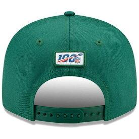 ニューエラ NEW ERA ジェッツ サイドライン ラッシュ スナップバック バッグ 【 JETS NFL RUSH SNAPBACK YORK 2019 SIDELINE COLOR 9FIFTY ADJUSTABLE HAT GREEN 】 キャップ 帽子 メンズキャップ 送料無料