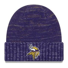ニューエラ NEW ERA ミネソタ バイキングス ラッシュ ニット 紫 パープル バッグ キャップ 帽子 メンズキャップ メンズ 【 Minnesota Vikings 2017 Color Rush Knit Hat - Purple 】 Purple