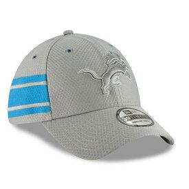 ニューエラ NEW ERA デトロイト ライオンズ サイドライン ラッシュ 灰色 グレー グレイ 【 NFL RUSH GRAY NEW ERA 2018 SIDELINE COLOR OFFICIAL 39THIRTY FLEX HAT 】 バッグ キャップ 帽子 メンズキャップ