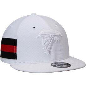 ニューエラ NEW ERA アトランタ ファルコンズ ラッシュ 白 ホワイト バッグ キャップ 帽子 メンズキャップ メンズ 【 Atlanta Falcons Kickoff Color Rush 9fifty Adjustable Hat - White 】 White