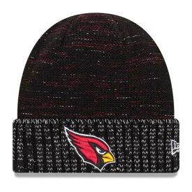 ニューエラ NEW ERA アリゾナ カーディナルス ラッシュ ニット 黒 ブラック 【 RUSH BLACK NEW ERA ARIZONA CARDINALS 2017 COLOR KNIT HAT 】 バッグ キャップ 帽子 メンズキャップ 帽子