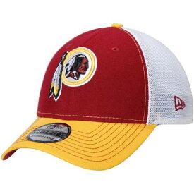ニューエラ NEW ERA ワシントン レッドスキンズ プラクティス 【 WASHINGTON REDSKINS PRACTICE PIECE 39THIRTY FLEX HAT BURGUNDY GOLD 】 バッグ キャップ 帽子 メンズキャップ 送料無料