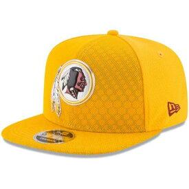 ニューエラ NEW ERA ワシントン レッドスキンズ ラッシュ スナップバック バッグ キャップ 帽子 メンズキャップ メンズ 【 Washington Redskins 2017 Color Rush 9fifty Snapback Adjustable Hat - Gold 】 Gold