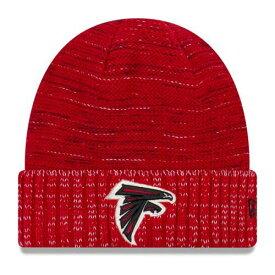 ニューエラ NEW ERA アトランタ ファルコンズ ラッシュ ニット 赤 レッド バッグ キャップ 帽子 メンズキャップ メンズ 【 Atlanta Falcons 2017 Color Rush Knit Hat - Red 】 Red