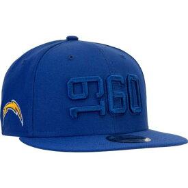 ニューエラ NEW ERA チャージャーズ サイドライン ラッシュ スナップバック バッグ 【 NFL RUSH SNAPBACK LOS ANGELES CHARGERS 2019 SIDELINE COLOR 9FIFTY ADJUSTABLE HAT NAVY BLUE 】 キャップ 帽子 メンズキャップ